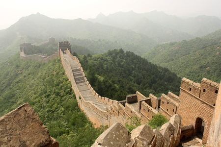 simatai: A section of The Great Wall of China, in Jinshanling