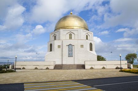 memorable: Memorable Sign in honor of adoption of Islam, Bulgar, Tatarstan, Russia