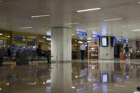 BRAZIL, SAO PAULO, 20 FEBRUARY 2017 - Waiting lounge in Guarulhos International Airport, GRU, Sao Paulo, Brazil Redakční