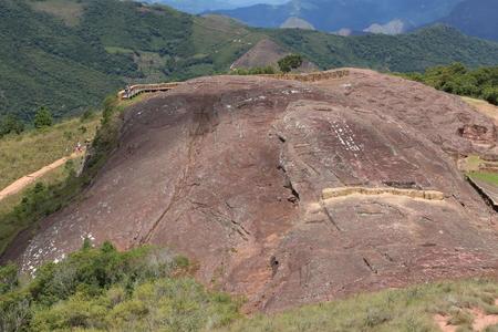 Archaeological site El Fuerte de Samaipata, Bolivia Reklamní fotografie