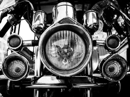 mod: mod light motorcycle Stock Photo