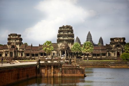 angkor watt Stock Photo