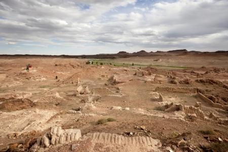 Rovine del Monastero Khiid Ongiin Archivio Fotografico - 16482495
