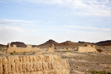 independent mongolia: ruins of the Ongiin Khiid Monastery