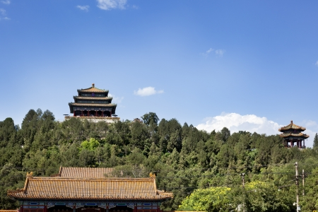 Part of the Forbidden City Stock Photo