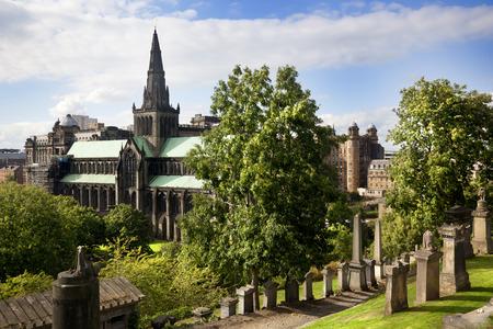 Glasgow cathedral aka High Kirk of Glasgow St Kentigern Mungo