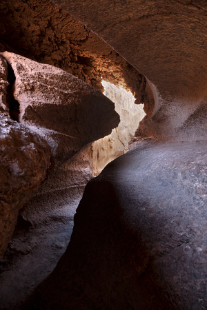 A cave in the desert of Atacama, Chile Banco de Imagens
