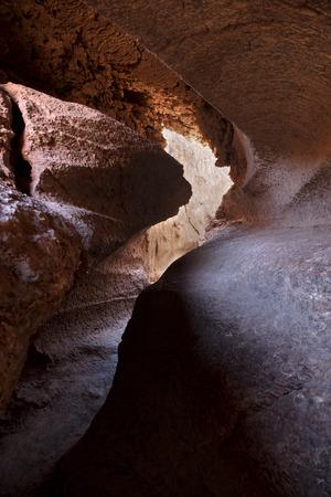 A cave in the desert of Atacama, Chile Archivio Fotografico