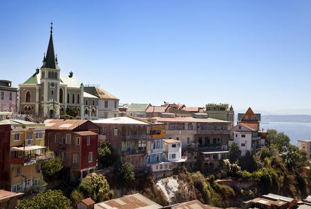 housing problems: Viewed on Cerro Concepcion, Valparaiso