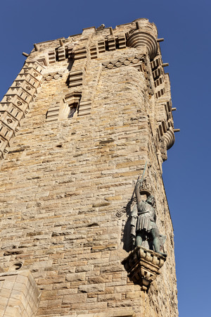 Une statue de William Wallace Monument, Stirling, �cosse
