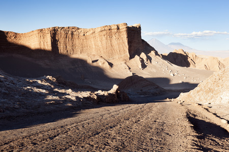 moon  desert: Valley of the moon, Atacama Desert. North Chile