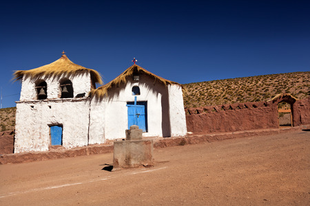conquistador: Colonial Church. North of Chile