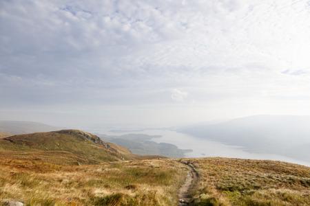 highlands region: Ben Lomond, Scotland-september 28, 2013
