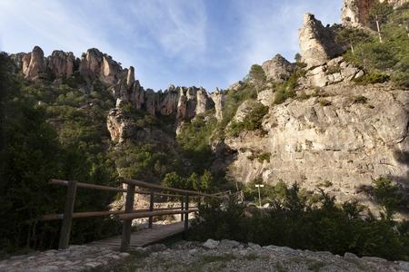 Los Ports Mountains National Park Stock Photo
