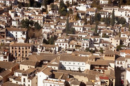 Views of Granada city Stock Photo