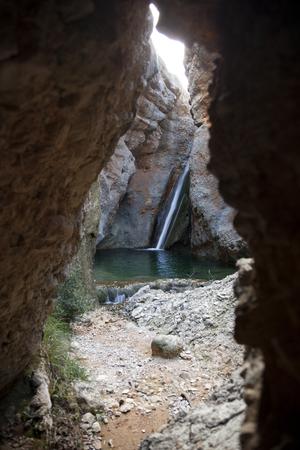 El Ventador waterfall Stock Photo