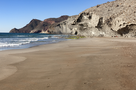 Genoveses beach. Cape of Gata Natural Park