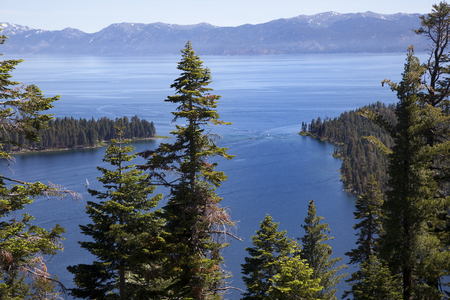 Tahoe lake, Californa, USA Stock Photo