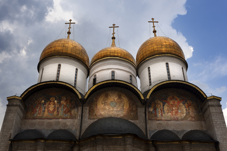 Assumption Cathedral, Moscow, Russia