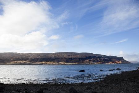 Waternish beach scenery