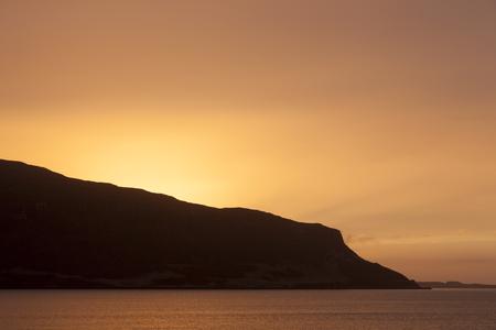 Sunset in Waternish beach