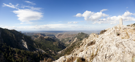 Los Ports Park Natural. Tarragona province. Spain Archivio Fotografico - 121839245