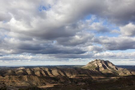 Los Ports natural park. Tarragona province. Spain Archivio Fotografico - 138827732
