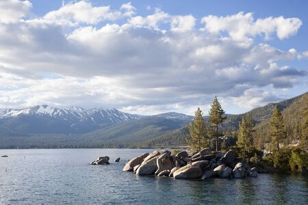 Tahoe lake, Californa, USA Archivio Fotografico - 138827802