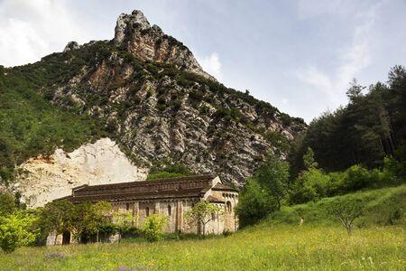 Romanesque church. Huesca. Spain Archivio Fotografico - 138827957