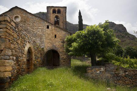 Romanesque church. Huesca. Spain