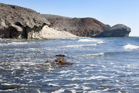 Cabo de Gara National Park. Almeria Archivio Fotografico - 138828326