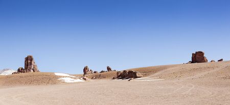 Salar of Tara, Atacama Desert. North Chile