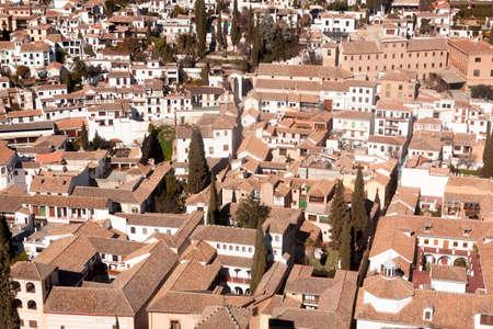 Views of Granada city Banco de Imagens
