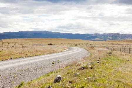 Way to Chilean Patagonia views