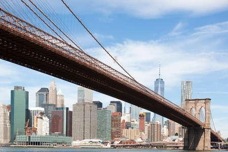 Brooklyn bridge from Brooklyn side