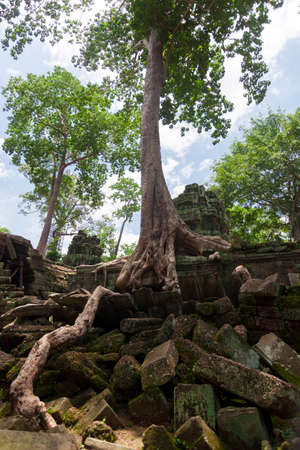 Ruins of Angkor in Cambodia