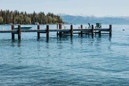 Tahoe lake, Californa, USA Archivio Fotografico