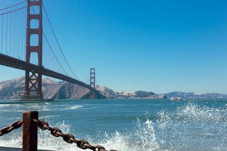 Golden Gate Bridge. San francisco California