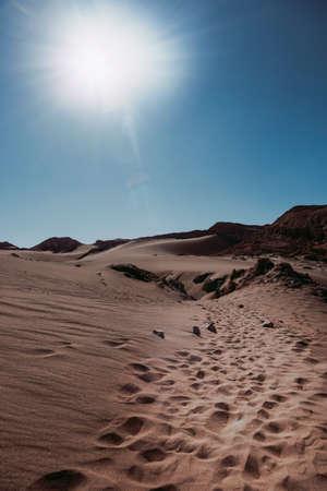 Valley of the moon, Atacama Desert. North Chile