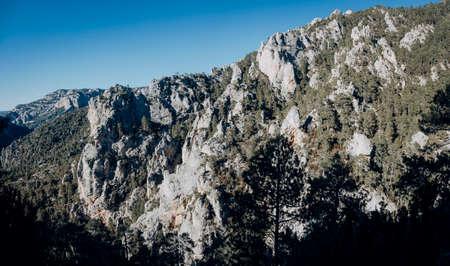 Path to Galera Peak. Teruel province. Spain