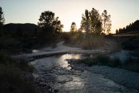 Matarranya river in Teruel province