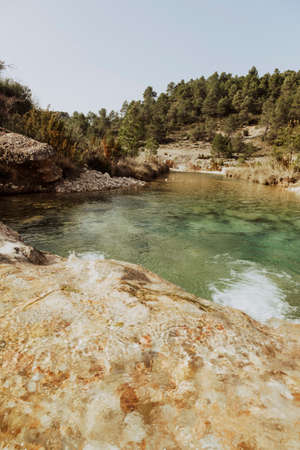 Ulldemó river gorge in Spain. Teruel province