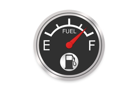 Fuel Gauge - High Resolution Image