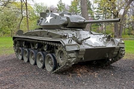 ii: M24 Chaffe Tank From World War II