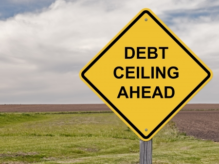 ceiling: Caution Sign About The National Debt Ceiling