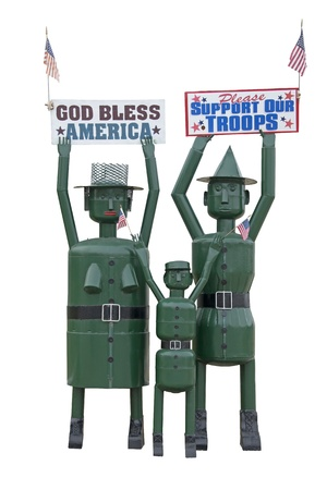 our: Support Our Troops  Good Bless America
