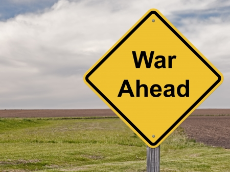 middle east crisis: Caution Sign That War Is Ahead
