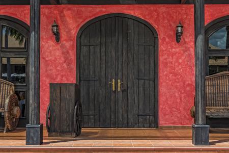 casa colonial: Portal Entrada A Mexican Resturant En La República Dominicana