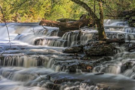 tennesse: Cascadas en Burgess parque estatal en Tennessee