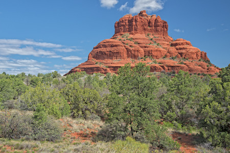 rock formation: Bell Rock Formation In Sedona Arizona
